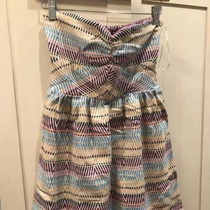 Roxy strapless dress 👗